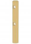 Poteau intermédiaire rond 2 lisses - Diamètre 14 - 1m50