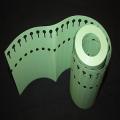 Etiquette Loky Roll Verte - 160 x 13