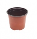 Pot Terre Cuite Flat - 13 x 9,6 - 5°