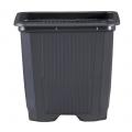 Pot VQB 9 x 9 x 8 - Noir - Carton