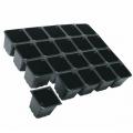 Plaque 3040/20 Multiflor - Noir