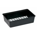 Clayette 8 x 8/6 SG - Noir - Carton