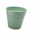 Pot terrasse - 27 cm - Menthe - Carton
