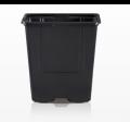 Godet VQF 7 x 7 x 6,5 - Noir - Carton